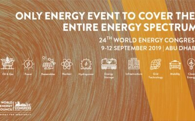 Planet Ark Power presenting at the 24th World Energy Congress in Abu Dhabi
